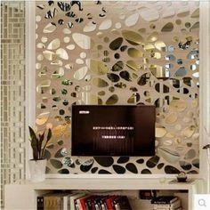 2015 новый творческий абстрактный эллиптических дизайн спальни зеркало зеркало наклейки наклейки фон коридор украшения вставить, принадлежащий категории Наклейки на стену и относящийся к Для дома и сада на сайте AliExpress.com   Alibaba Group
