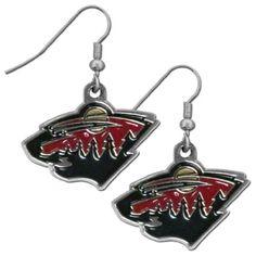 NHL Minnesota Wild Dangle Earrings Siskiyou Sports http://www.amazon.com/dp/B00CIOIRZQ/ref=cm_sw_r_pi_dp_wrSVvb1MXG6QH