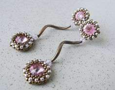 Rivoli inspiration...Coppery pink by RidgwaysSk on Etsy, €16.90