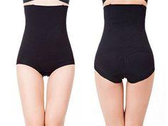 69b2bd6e842 Womens Shapewear HiWaist Brief Firm Tummy Control Butt Lifter Panty Shaper  Medium Large Black  gt