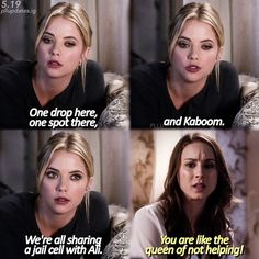 "#PLL 5x19 ""Out, Damned Spot"" - Hanna and Spencer"