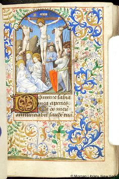 Book of Hours, MS M.1027 fol. 14r - Images from Medieval and Renaissance Manuscripts - The Morgan Library & Museum