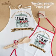 Lola Wonderful_Blog: Packs para amantes de la cocina, personalizados para el chef