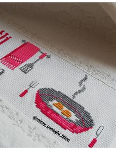 Cross Stitch Needles, Cross Stitch Art, Cross Stitch Embroidery, Cross Stitch Patterns, Crochet Patterns, How To Make Headbands, Cross Stitch Kitchen, Diy Headband, Diy Doll