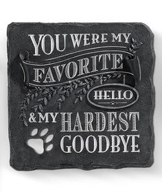 This 'You Were My Favorite' Stepping Stone is perfect! #zulilyfinds