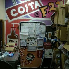 Costa Coffee Graffiti By Me.