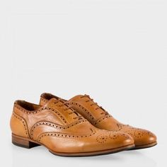 Paul Smith Men s Shoes - Tan Leather Miller Brogues ce3a85044