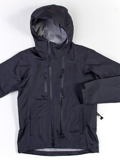 SEAWALL :: Snow Peak 3L Rain Jacket #outerwear #fall #fashion #mens #nattyguy