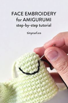 Amigurumi Tutorial, Crochet Amigurumi Free Patterns, Crochet Doll Pattern, Crochet Dolls, Crochet Stitches, Doll Tutorial, Crochet Eyes, Cute Crochet, Crochet Crafts