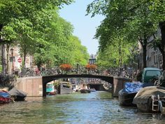 canals, Amsterdam