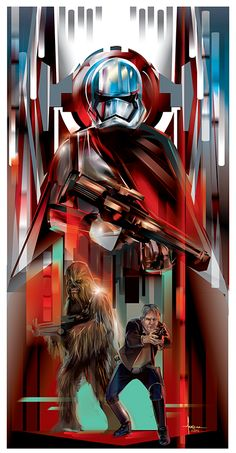 Star Wars: Adversaries /// by Orlando Arocena