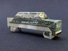 CAR Dollar Origami Vehicle