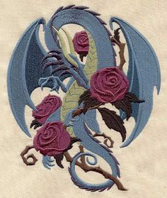 dragon-and-rose