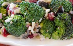 Brocoli Salad Recipe by SpicedUpCook on Etsy, $2.00