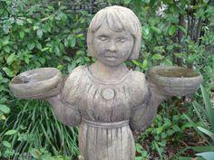 Garden Girl Statue at Capitol Park Antiques, Interiors & Gardens