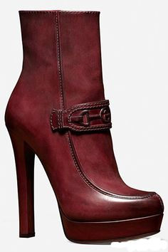 Gorgeous Gucci Shoes Fall/Winter 2012-13 Collection - Gucci Shoes F/W - Collection - Shoes - Designer - Freida Giannini