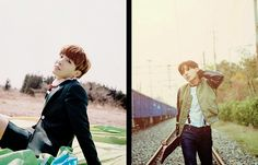 BTS The Most Beautiful Moment in Life (화양연화) Photoshoot vs Young Forever Photoshoot | J-Hope