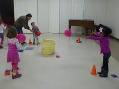 Les jeux collectifs et les ateliers de lancer