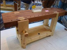 My 18th Century Woodworking Bench: Whats A Roubo Workbench You Say?