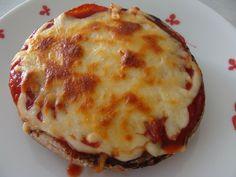 Portabella Mushroom Pizza...you won't miss the bread at all!!