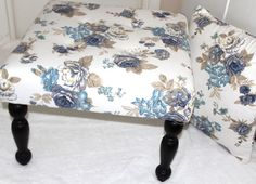 Lounge side table decorative ottoman on Etsy, £106.13