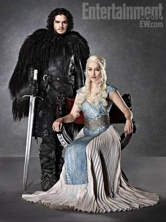Beautiful of Jon Snow and Daenerys says Lady Ellen of www.persephanependrake.com