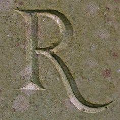 The letter R   Robin : identity : letter R : 04   color   ram2013