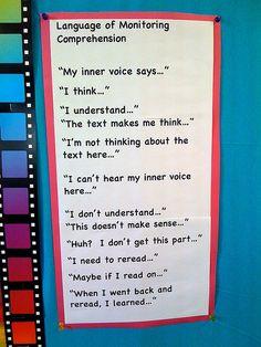Language of Monitoring Comprehension by kmuhtaris, via Flickr