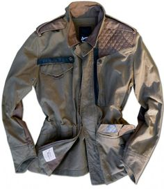 SOCIAL* Part WW2 British Field Jacket, Part Motorcycle Touring Jacket