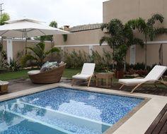 piscinas i ui Areas Gourmet, Interior, Outdoor Decor, Home Decor, Pools, Timber Deck, New Houses, Garden, Cottage