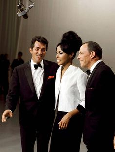 Dean Martin, Diahann Carroll, and Frank Sinatra on The Dean Martin Show, 1965