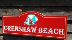 Custom Pool Sign Beach House Personalized PVC Board
