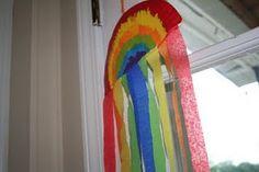 Rainbow Wind Catchers #yourfoodstory http://blog.yourfoodstory.com/2013/04/12/rainbow-wind-catchers/