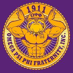 Omega Psi Phi Fraternity, Inc - T-Shirt Design Alpha Phi Alpha, Delta Sigma Theta, Black Girl Art, Black Art, Greek Gifts, Delta Girl, Omega Psi Phi, Eastern Star