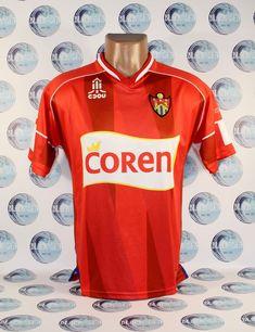 CLUB DEPORTIVO OURENSE FOOTBALL SOCCER SHIRT JERSEY TRIKOT CAMISETA RARE  SPAIN S  CDOURENSE Soccer Shirts dd8aa3385ba1c