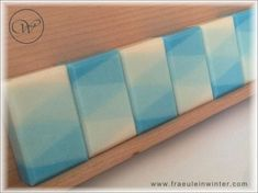 "Soap ""Nevia Harlequin"" - color gradient - handmade soap"