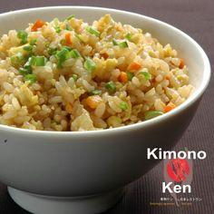 CHAHAN  Special Japanese fried rice #kimonoken #foodspotting #japanesefood