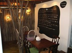 interior design of a coffee shop