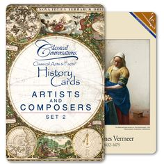 Classical Acts & Facts Artists and Composers Set 2 (renaissance)