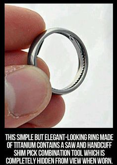 Sneaky ring!