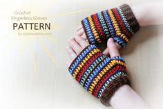 New Pattern ~ Crochet Fingerless Gloves