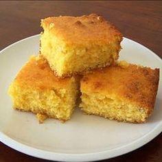 Sweet cornbread. Yum! My own cornbread recipe is Gluten-free: 2 cups ...