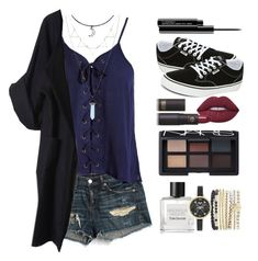 """""""Trip to Hogwarts"""" by queenkhushi ❤ liked on Polyvore featuring rag & bone/JEAN, Sans Souci, Vans, MAC Cosmetics, Lime Crime, Lipstick Queen, Merci Me London, NARS Cosmetics, Tom Daxon and Jessica Carlyle"""