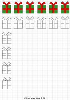 Disegni Di Natale A Quadretti.Cornicette Di Natale A Quadretti Da Disegnare E Colorare Istruzione Difficolta Di Apprendimento Le Idee Della Scuola