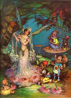 Peg Maltby....... Fairy Wedding.
