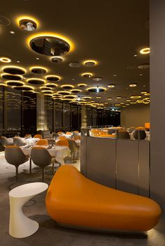 A Rooftop Restaurant Gets A Bond-Worthy Facelift | Co.Design: business + innovation + design