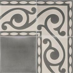 Carreaux de ciment les motifs carreau cof 10 couleurs mati res - Carreaux de ciment et parquet ...