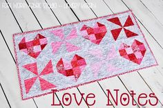 Love Notes {A Free Pattern}