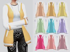 Pastel Sweater for The Sims 4 The Sims 4 Pc, Sims 4 Mm Cc, Sims Four, My Sims, Sims 4 Mods Clothes, Sims 4 Clothing, Sims 4 Pets, Play Sims 4, Sims4 Clothes