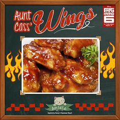 Recipe: Aunt Cass' Wings from 'Big Hero 6′